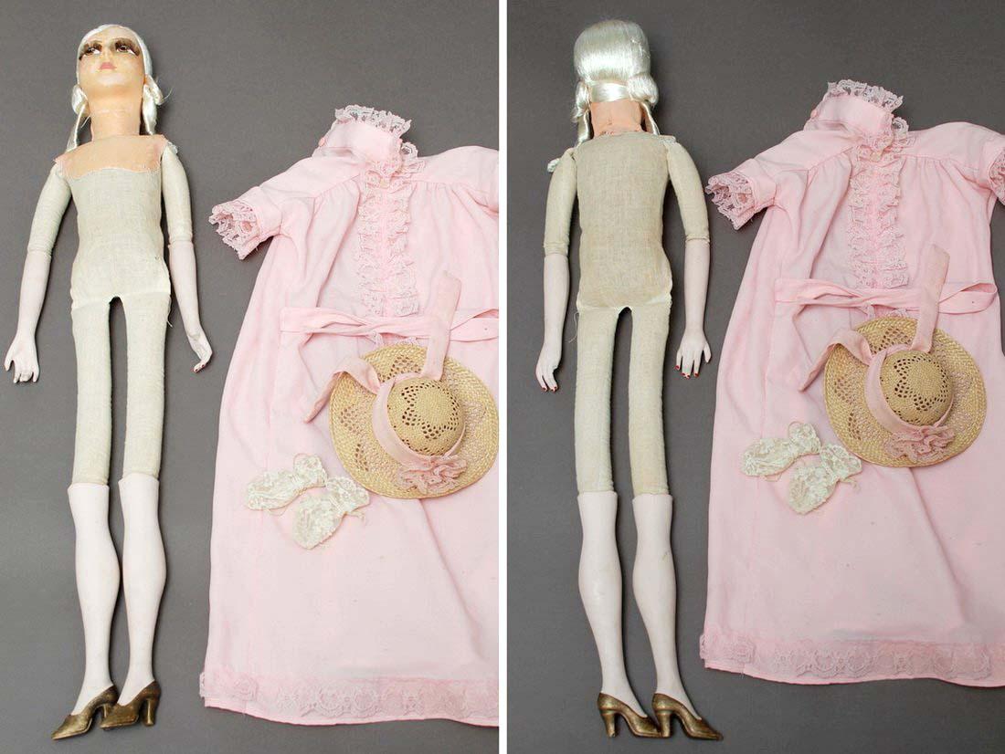 будуарная кукла без одежды