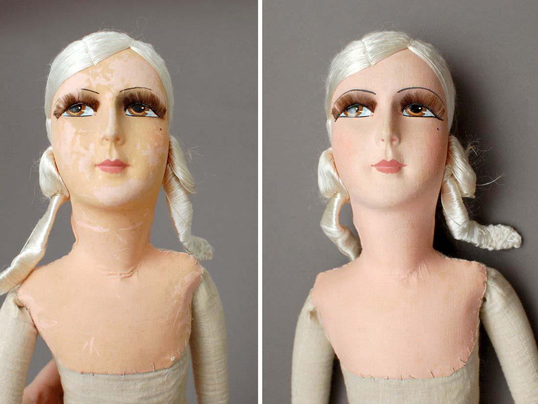 будуарная кукла ло и после изменения