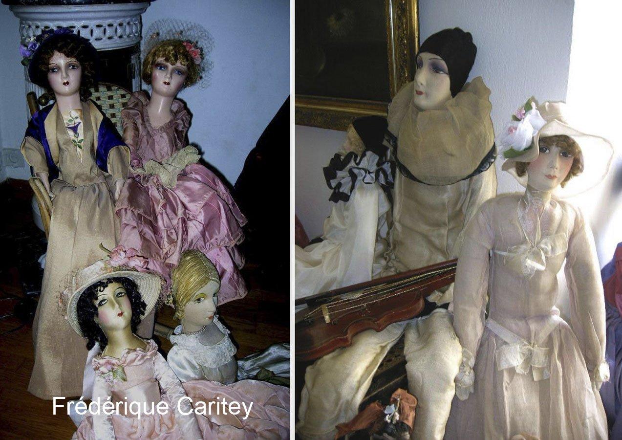 фото американских будуарных кукол