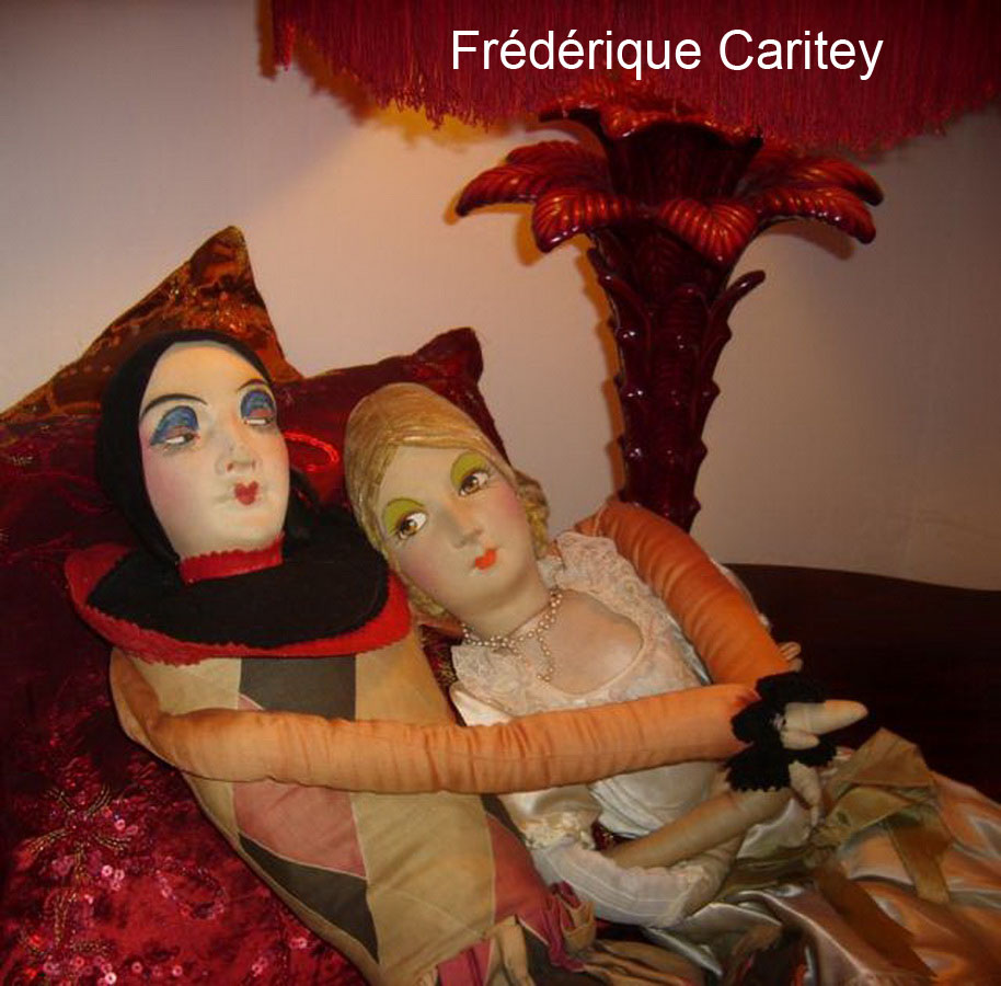 фото антикварных будуарных кукол пьеро