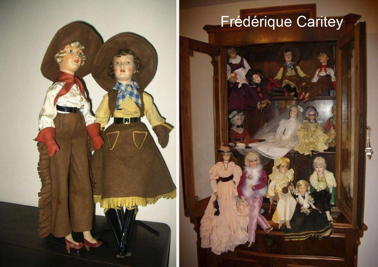 немецкие будуарные куклы