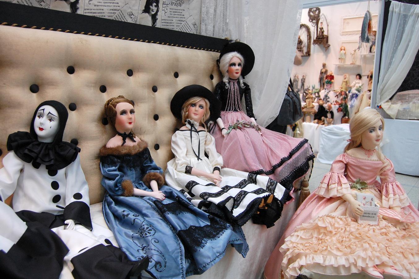 фото красивых будуарных кукол с выставки