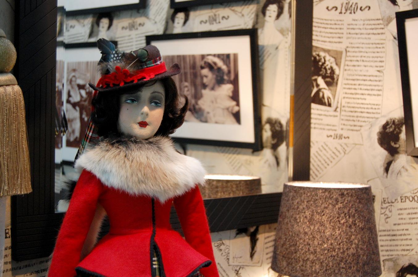 фото фетровой будуарной куклы