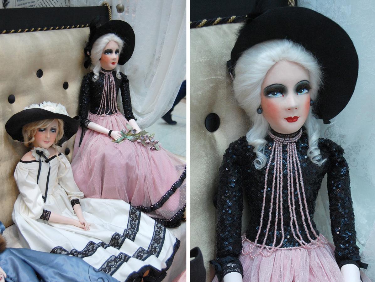 фото авторских будуарныех кукол