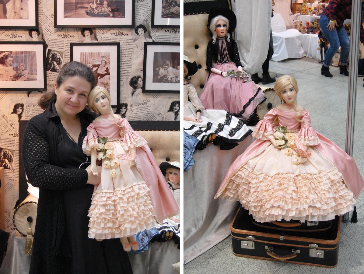 будуарные кукла с выставки искусство куклы в гостином дворе