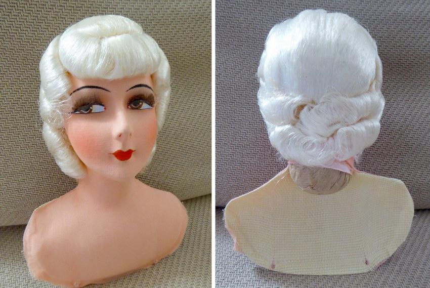 голова будуарной куклы