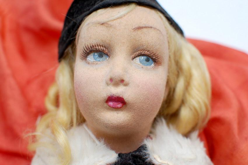 голова будуарной куклы Lenci