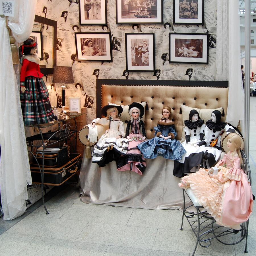 искусство куклы 2017 выставка в гостином дворе