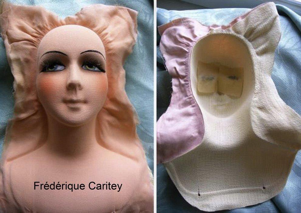 маска лица будуарной куклы
