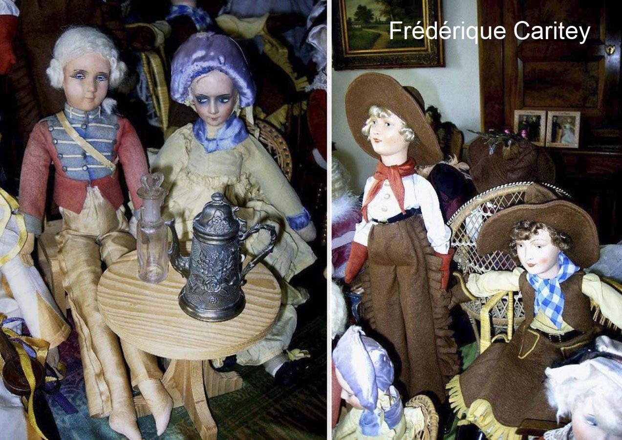 фото будуарных кукол из Германии