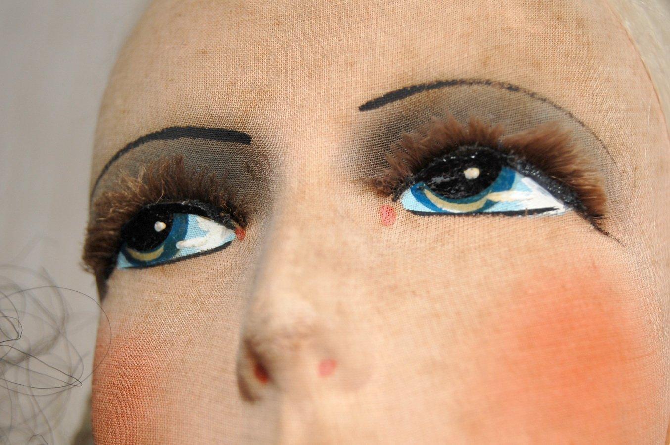 роспись миних глаз у куклы