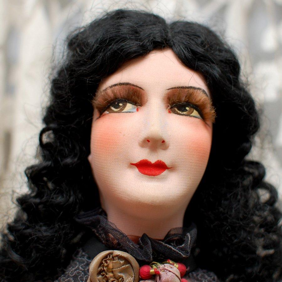 идеальная роспись лица куклы
