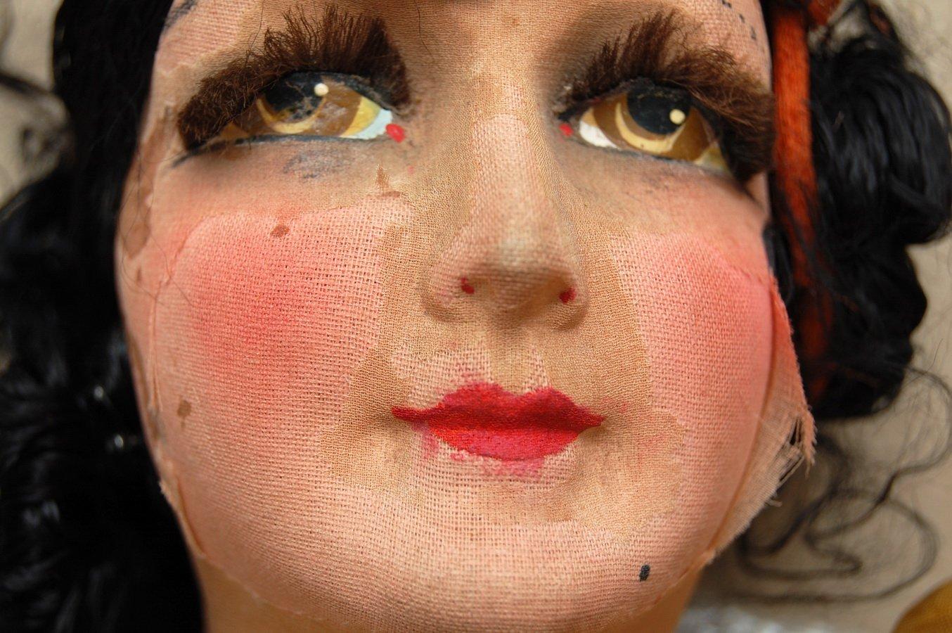 будуарная кукла реставрация