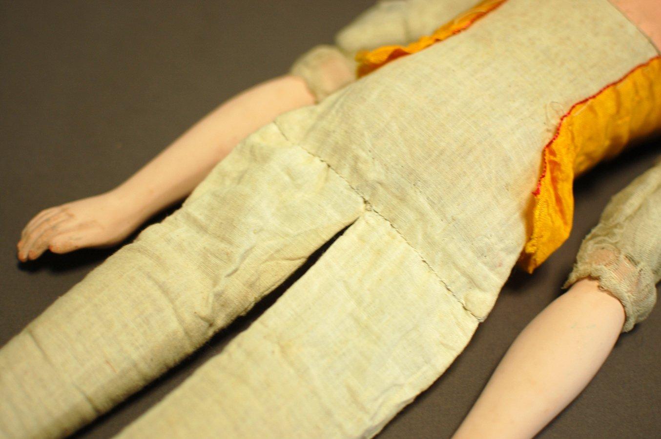 тело будуарной куклы после ремонта