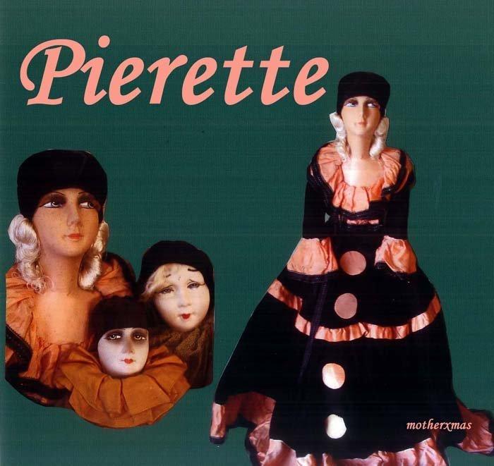 будуарная кукла Перетта