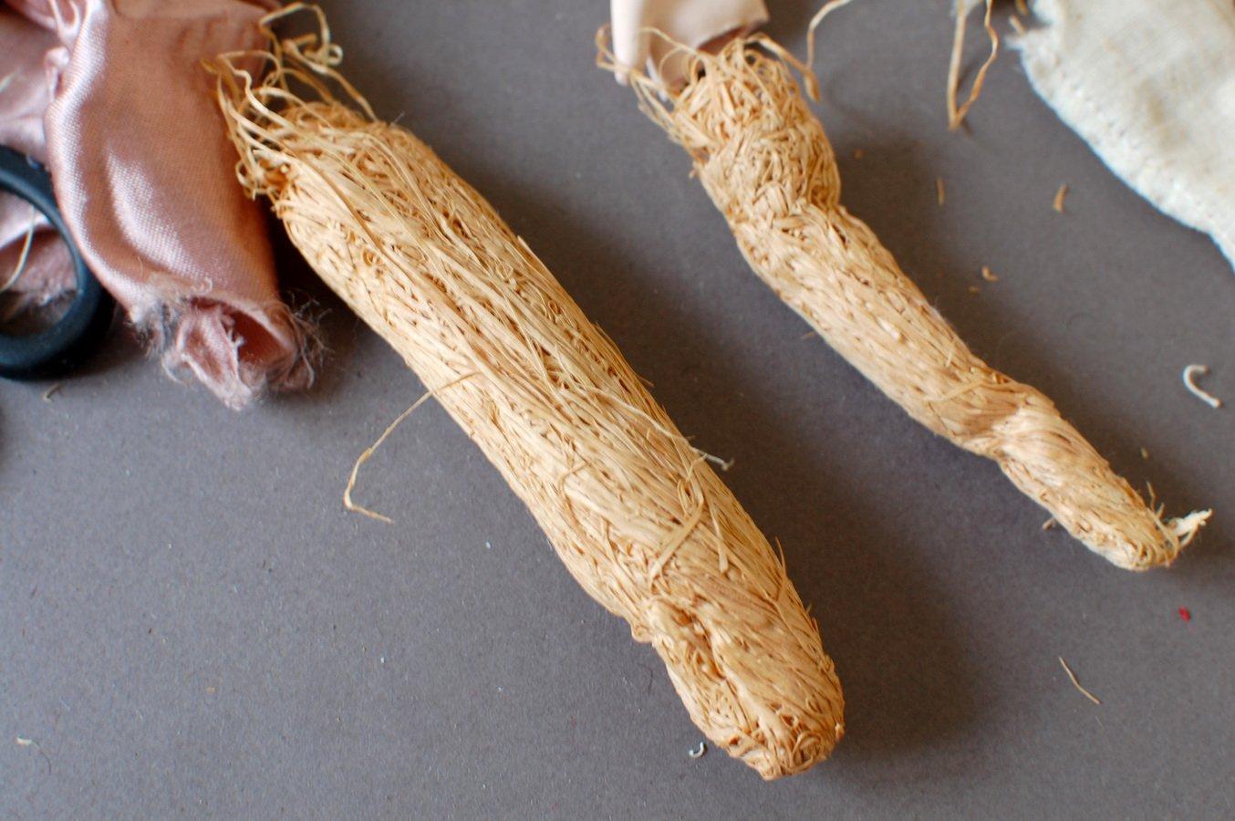 древесная шерсть для набивки кукольного тела