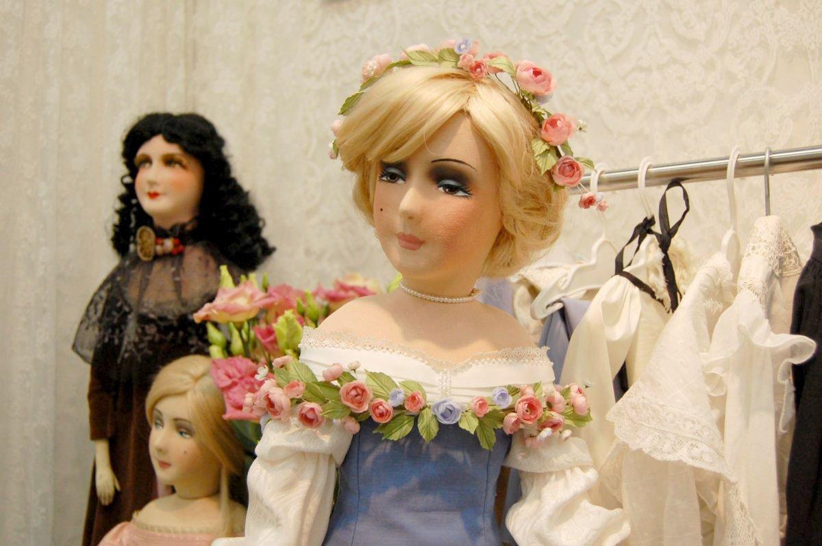интерьерная будуарная кукла Ирины Углинской