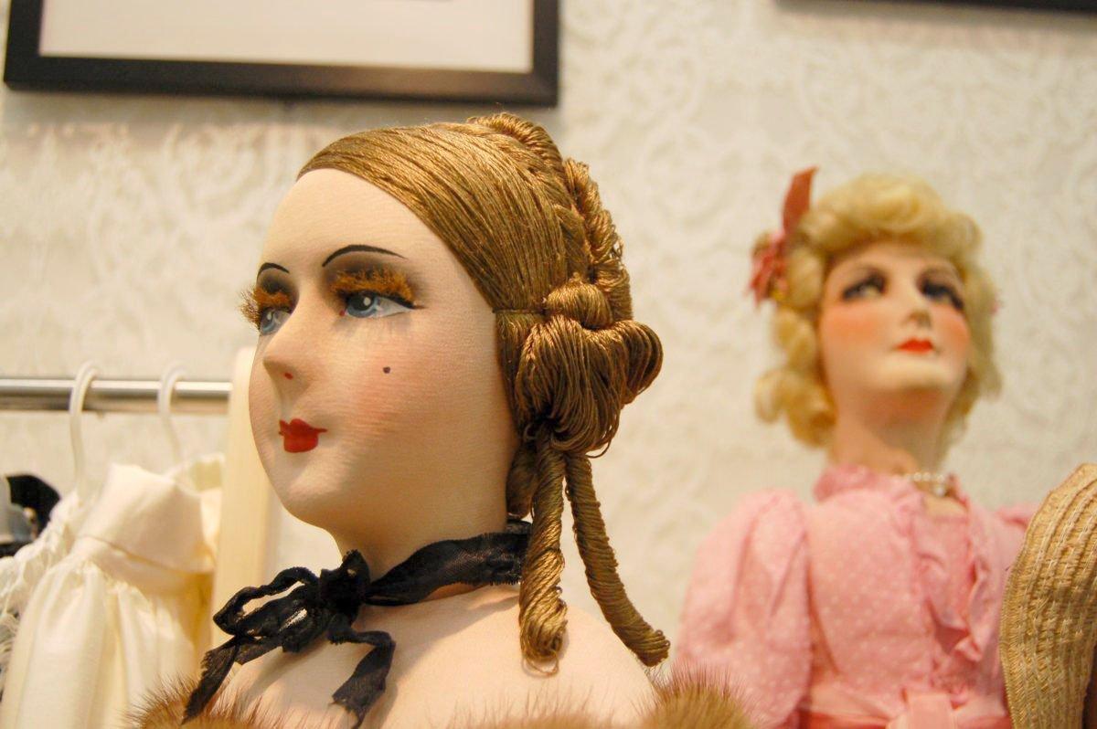 авторская интерьерная будуарная кукла