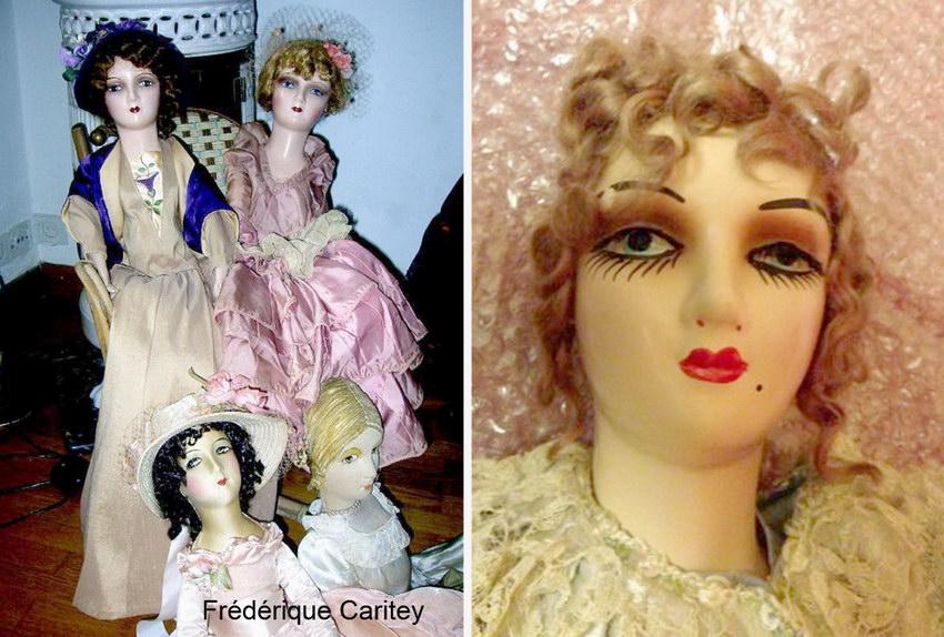 американские будуарные куклы