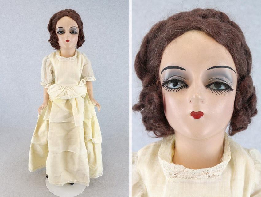 американская будуарная кукла