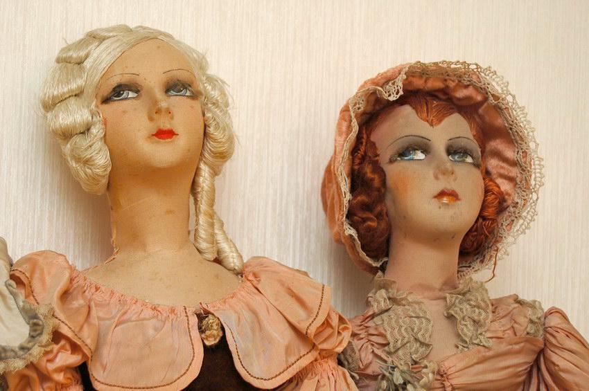 французские будуарные куклы