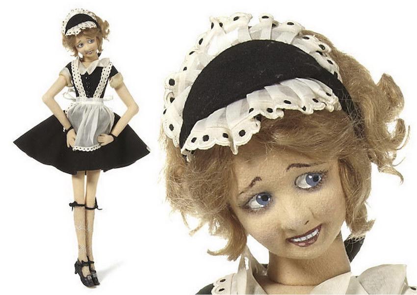 будуарные куклы Lenci