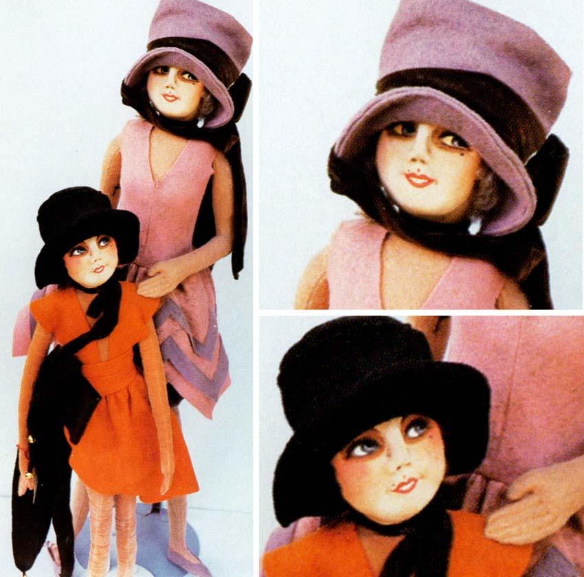 будуарные куклы Crowley Milna & Co