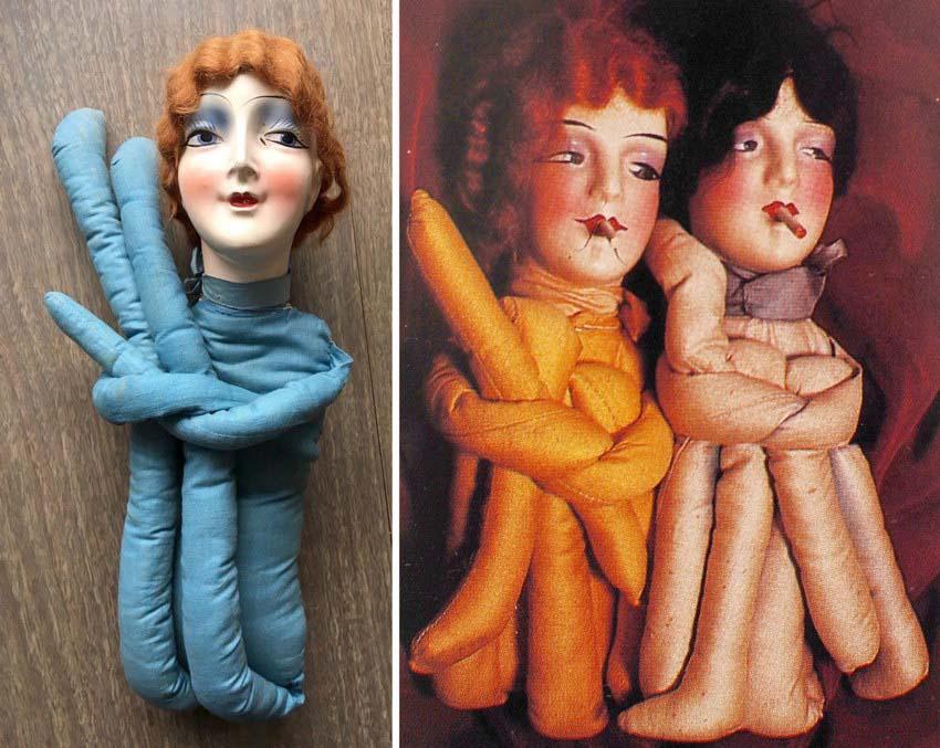 курящие куклы Anita