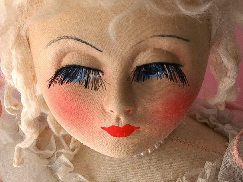 голова будуарной куклы Blossom