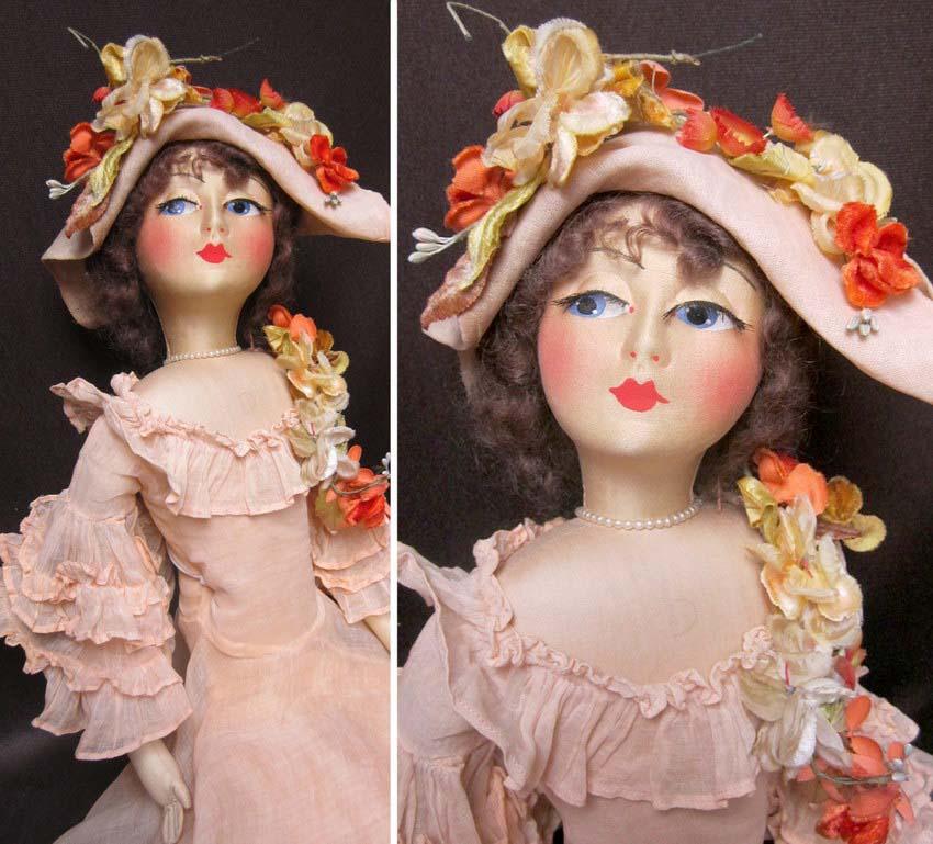 будуарная кукла Blossom