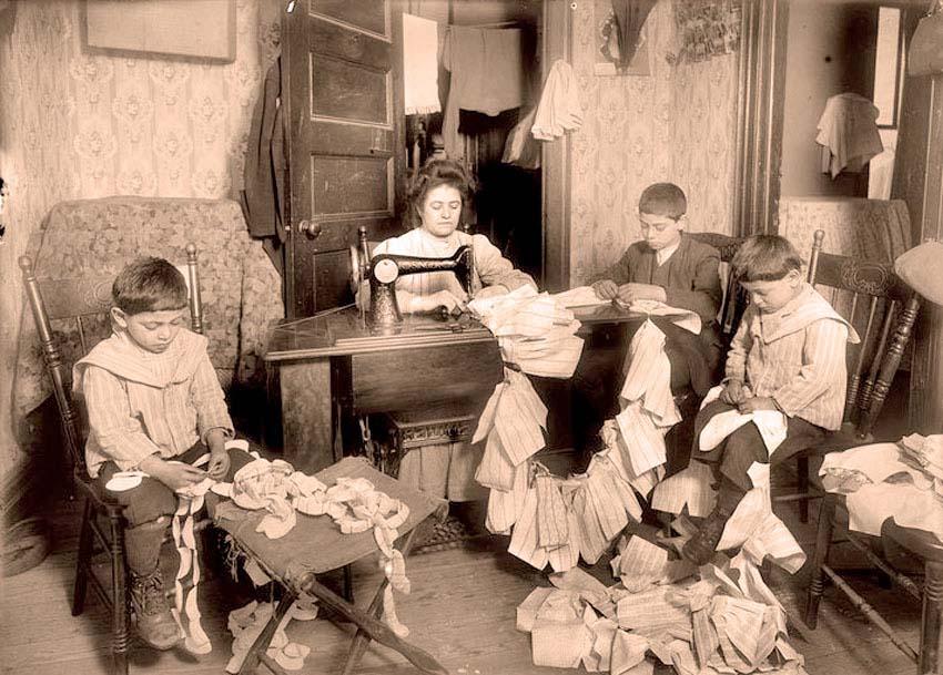 семья надомных работников