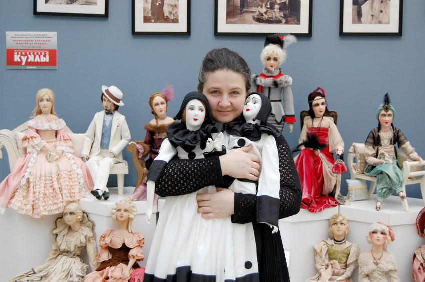 Ирина Углинская мастер будуарной куклы