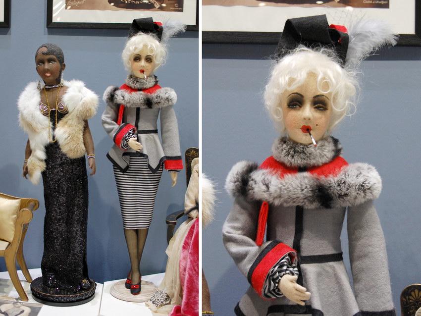 авторские будуарные куклы