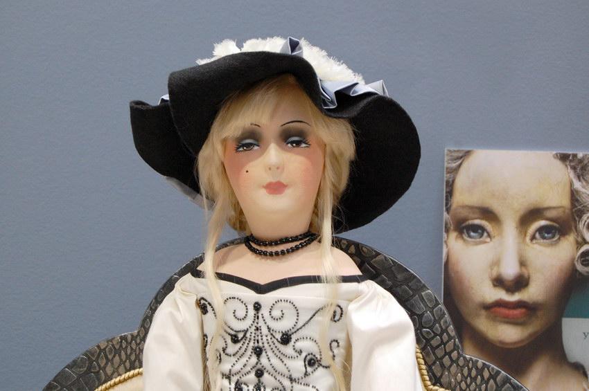 авторская будуарная кукла