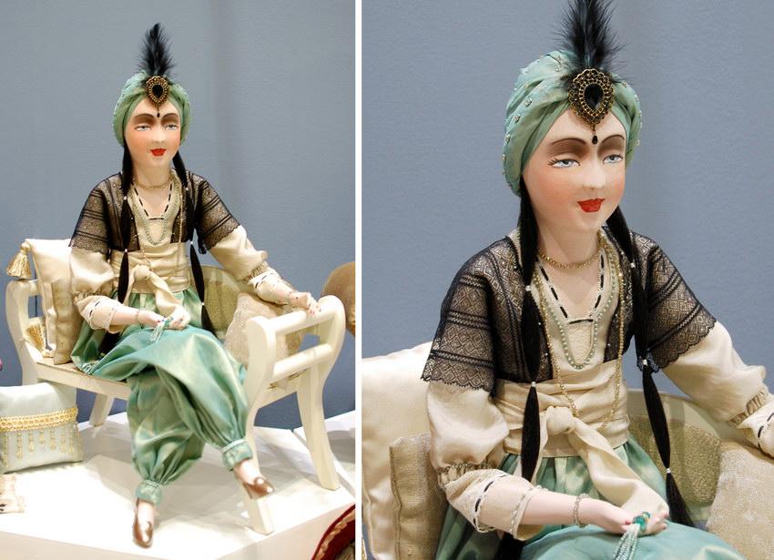 автоская будуарная кукла Жасмина