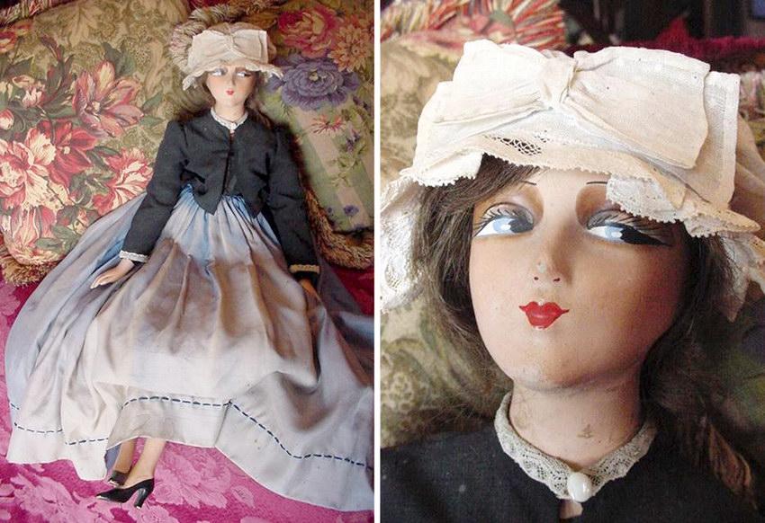 будуарная кукла