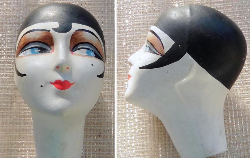 голова антикварной куклы JxB
