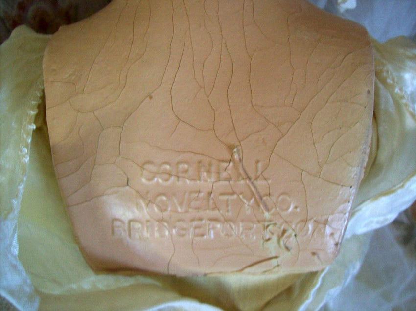 маркировка на спине куклы