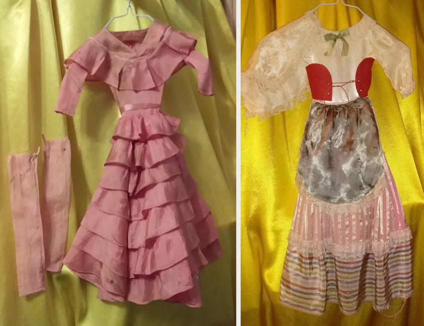 фото одежды будуарных кукол