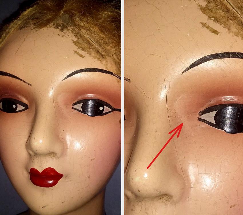 глаза будуарной куклы из композита