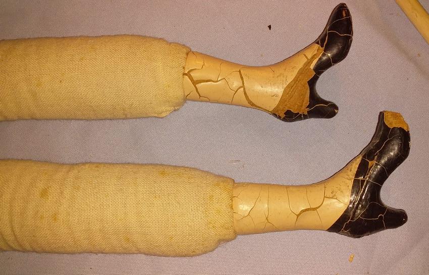ноги композитной куклы