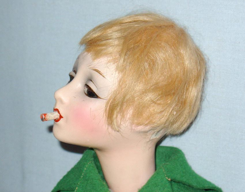 композитная будуарная кукла