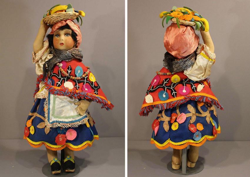 бразильская будуарная кукла