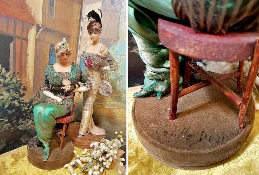 антикварные куклы Lafitte Desirat