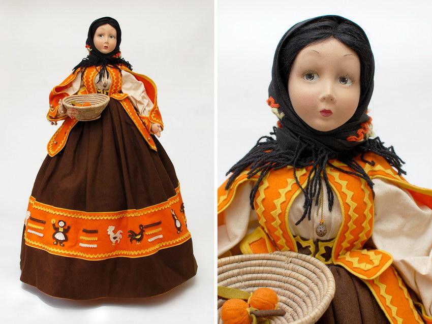 будуарная кукла Lenci