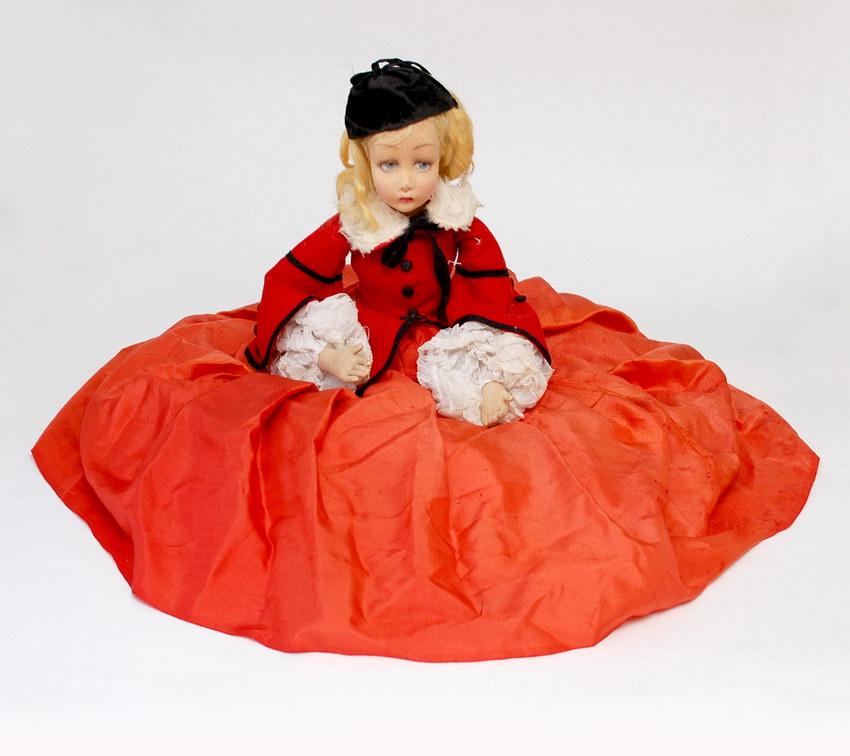 итальянская будуарная кукла Lenci