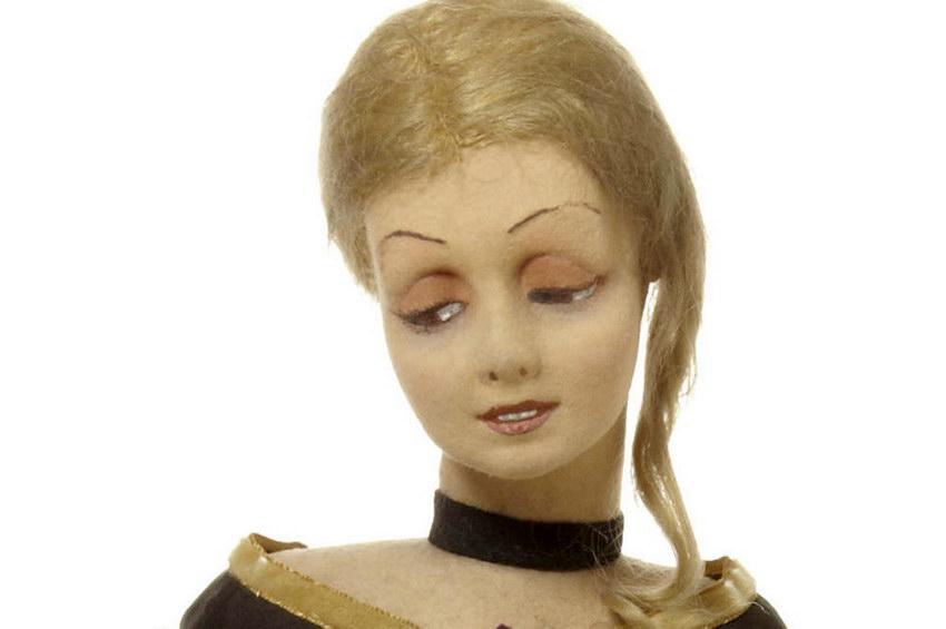 редкая будуарная кукла Lenci