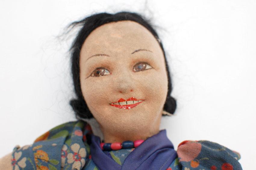 войлочная кукла Norah Wellings
