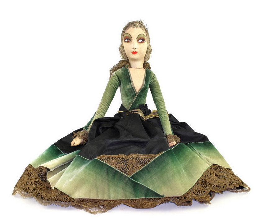 будуарная кукла Ring Lady