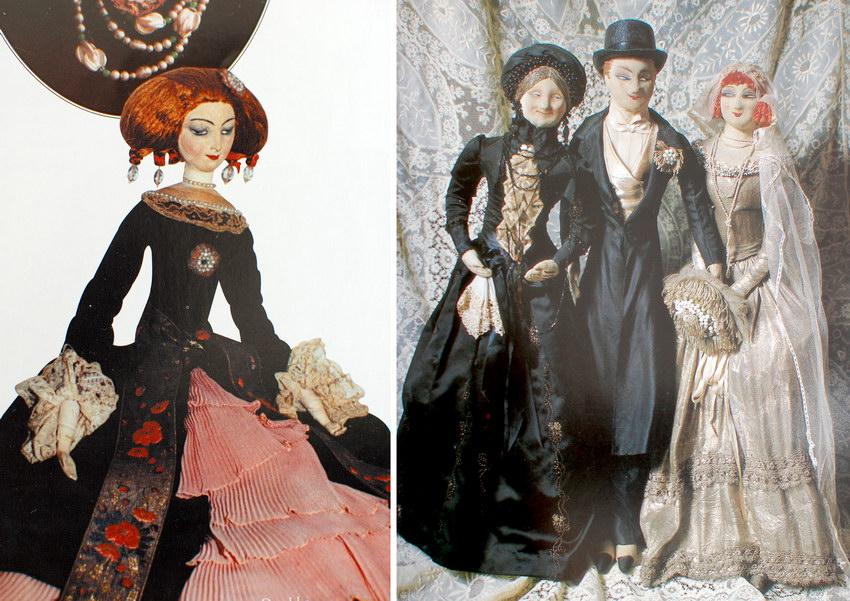 будуарные куклы Rosalinde